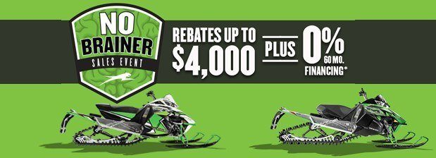 Arctic Cat No Brainer Sales Event